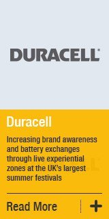 Increasing brand awareness and battery exchanges through live experiential zones at the UKs largest summer festivals