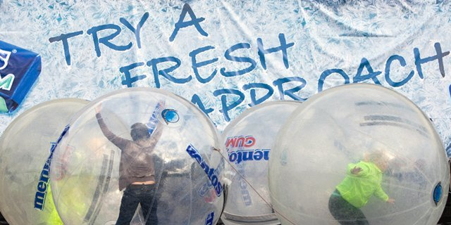 Mentos; Water Zorbing